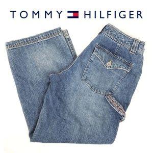 Vintage Tommy Hilfiger Cropped Jeans Capris Size 6